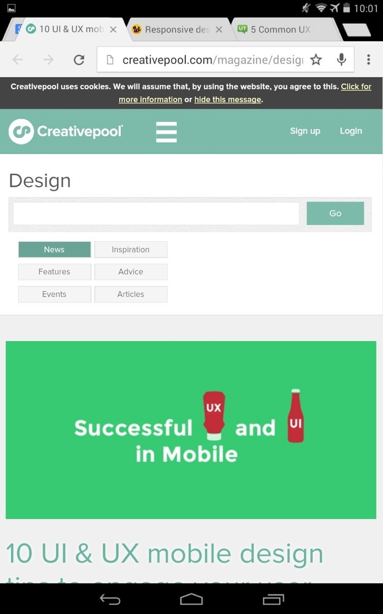 Mobile-UX-creative-pool