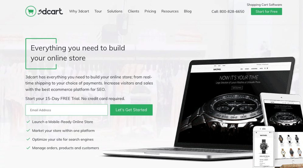 eCommerce Software to Build Amazing Online Stores 3dcart