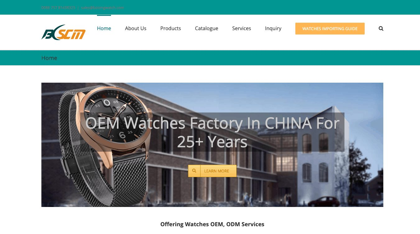 Custom Watches Wholesale And Watch Manufacturer-BLSCM