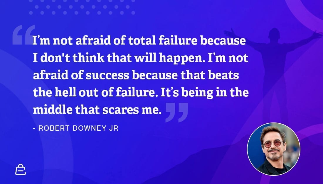Quote 13 Rdj Afraid Of Middle