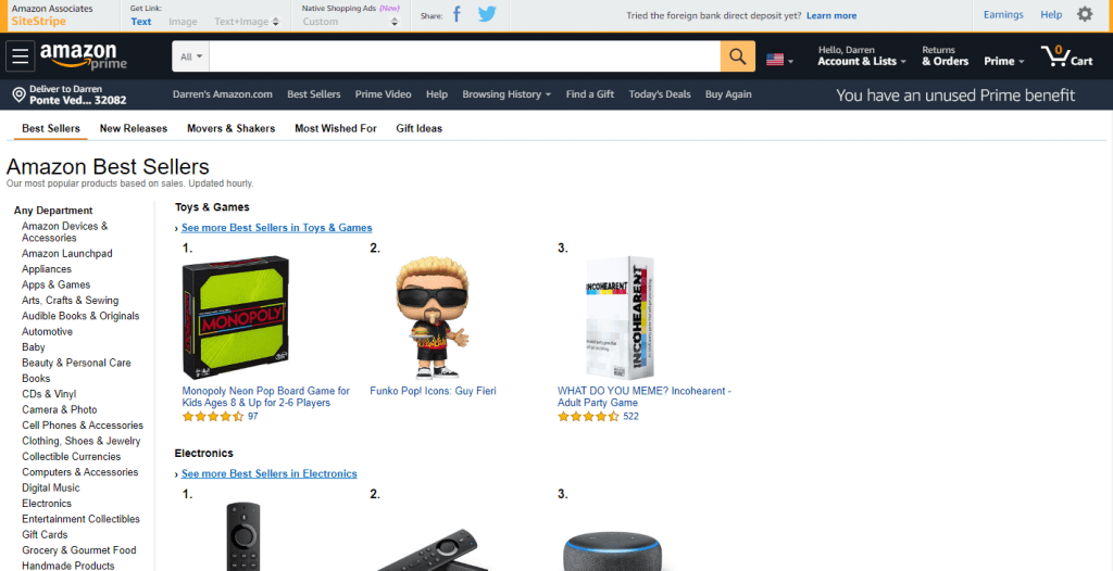 Amazon.com Best Sellers The Most Popular Items On Amazon (1)