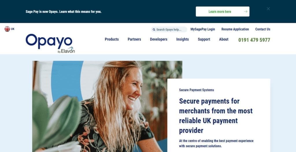 Secure Payment Processing Services Opayo UK Formerly Sage Pay 1024x526 1