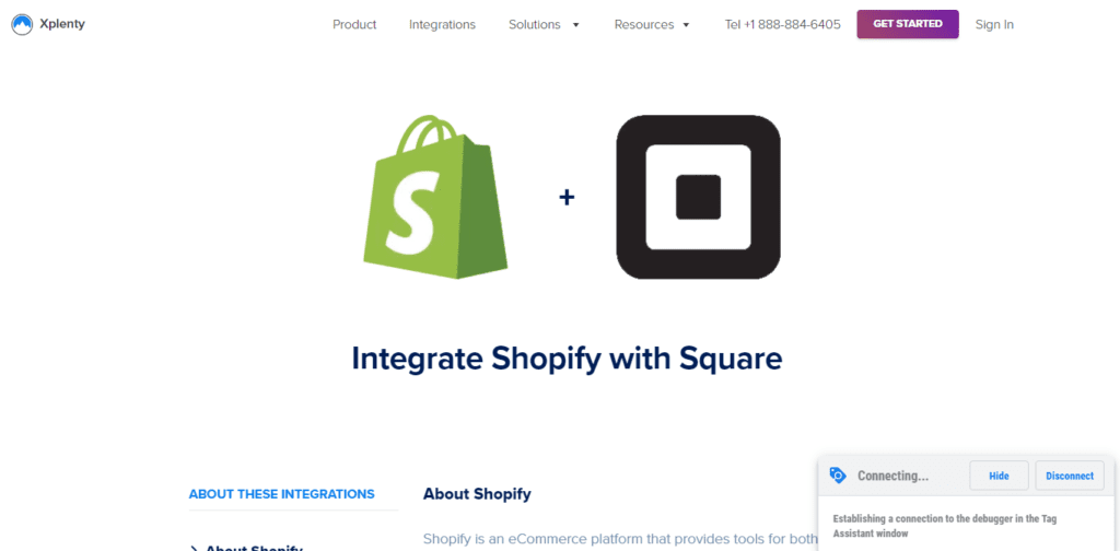 Integrate Square With Shopify Using Xplenty