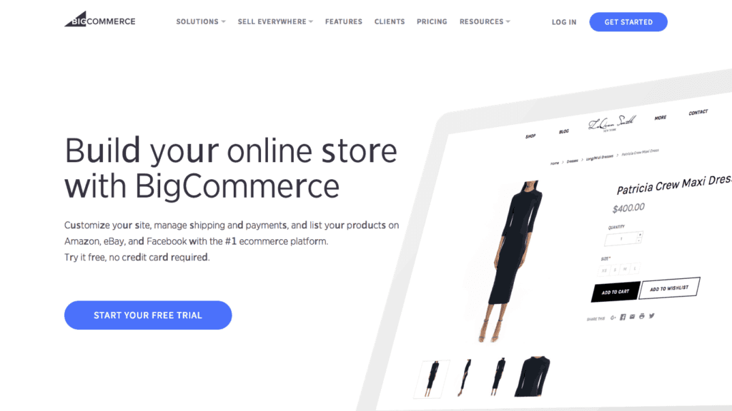 BigCommerce offers decent SEO features